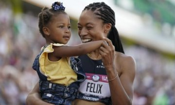 Allyson Felix wins another victory for mothers by claiming Tokyo Olympics spot | Andy...