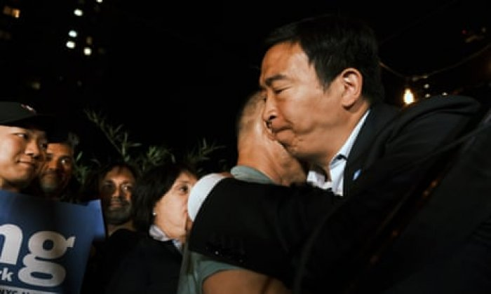 Andrew Yang drops out of New York mayoral race as Eric Adams leads