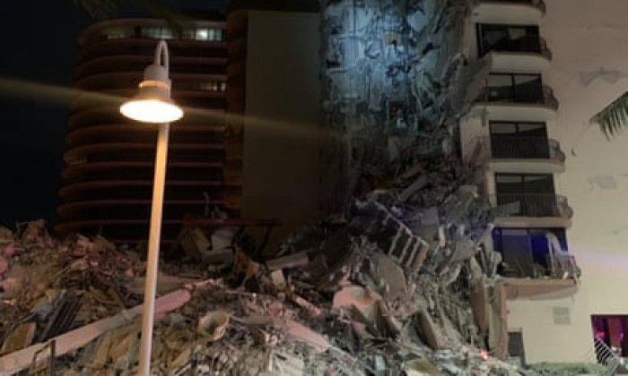 Emergency operation under way after Miami building collapse