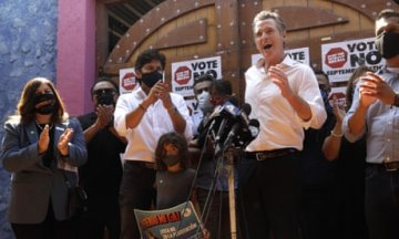 'It was never about saving Newsom': how Latino voters played a major role in Californ...